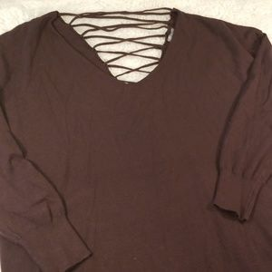 Charlotte Russe Lightweight sweater